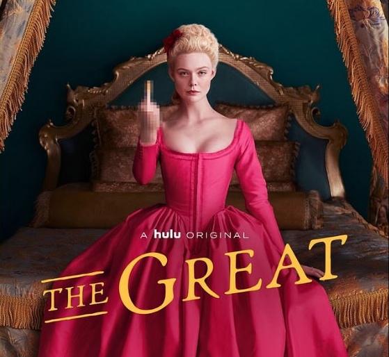 The Great. Genial y Delirante Serie.