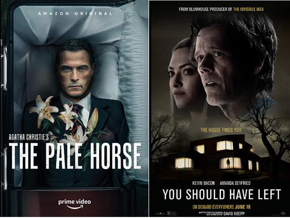 The Pale Horse y You Should Have Left Gemelos Separados alNacer.